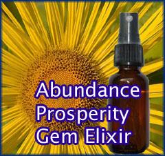 Abundance Prosperity Gem Elixir