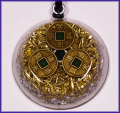 Natures blessings abundance and prosperity orgone pendant what is orgone mozeypictures Choice Image