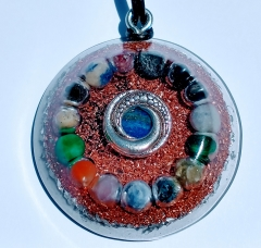 Natures blessings build confidence confidence orgone pendant mozeypictures Choice Image