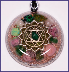 Natures blessings what orgone is heart chakra 4th orgone pendant aloadofball Choice Image
