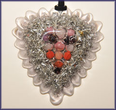 Love Heart Orgone Pendant