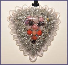 Natures blessings powerful orgone orgonite pendant testimonials love heart orgone pendant aloadofball Images