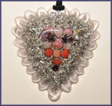 Love-Heart Orgone Pendant