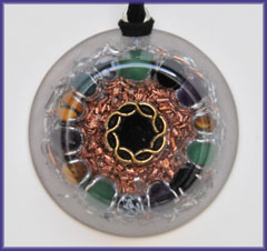 Natures blessings protection orgone pendant amulet of protection mozeypictures Images