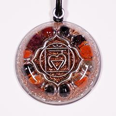 Root (1st) Chakra Orgone Pendant