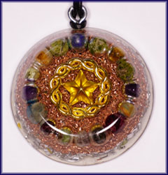 Natures blessings star orgone pendant 5 pointed star mozeypictures Choice Image
