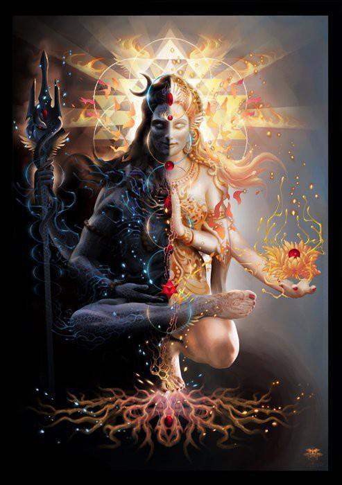 Shiva Shakti Sacred Union Feminine Masculine Audio